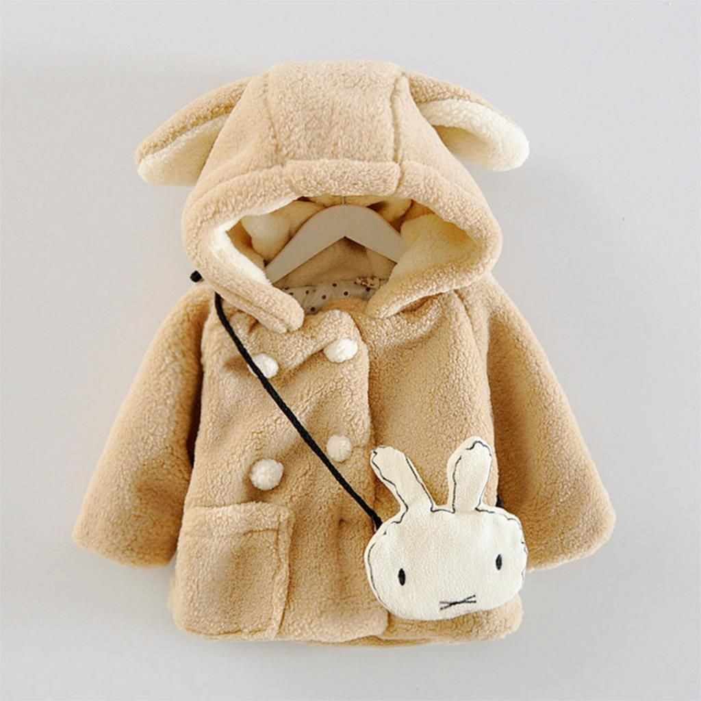 Aliexpress Com Buy Fashion Children Coat Thick Kids Faux Fur Winter Outerwear Cute Rabbit Coat For Baby Gi Kids Fashion Baby Girl Clothes Winter Baby Clothes