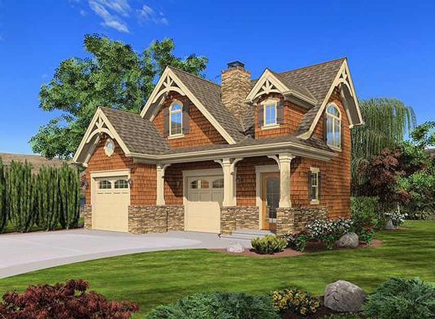 Plan 23488jd Craftsman Cottage Or Carriage House Plan Craftsman Style House Plans Carriage House Plans Craftsman Cottage