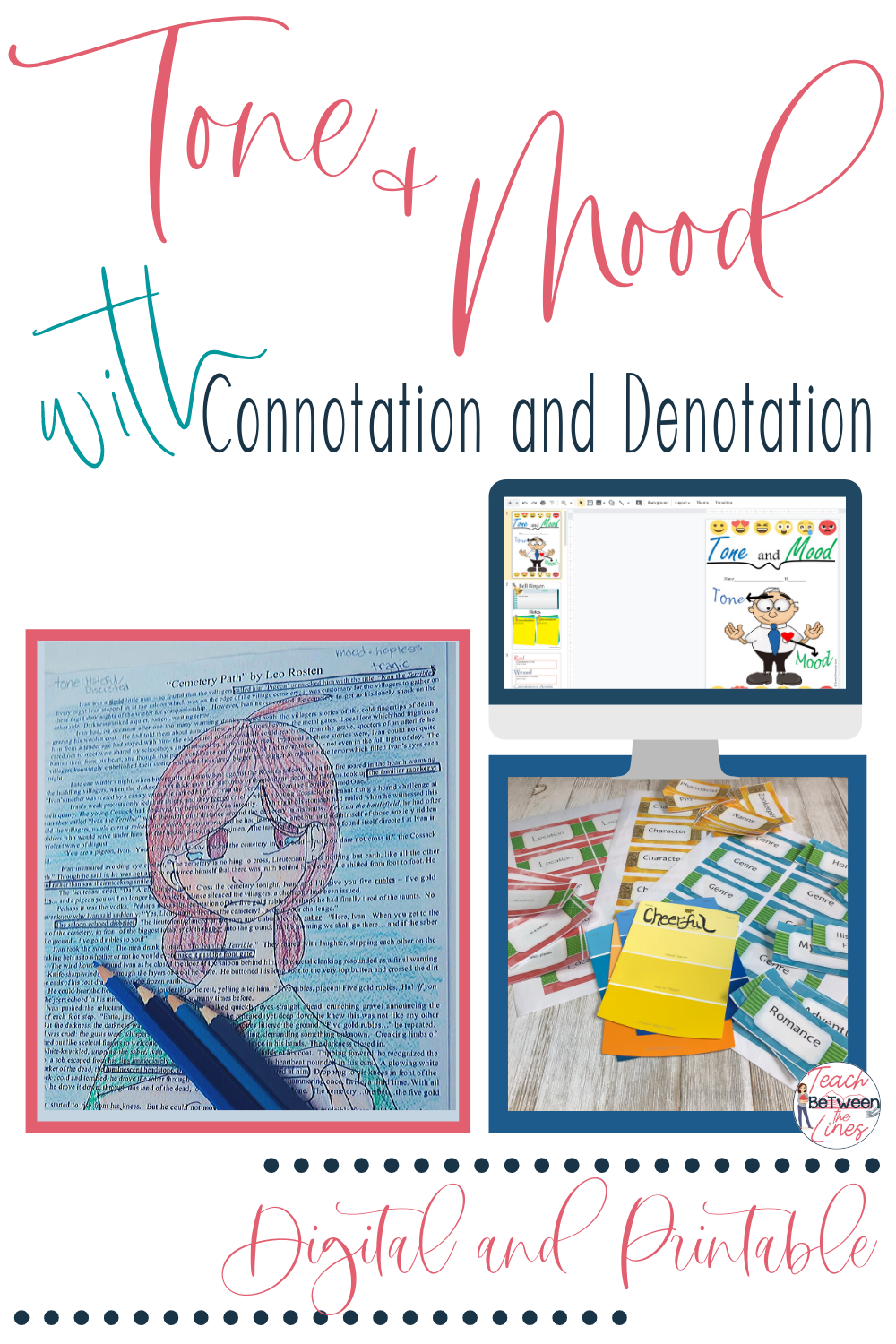 Tone And Mood Unit In 2020 Mood In Literature Creative Writing Activities Writing Activities