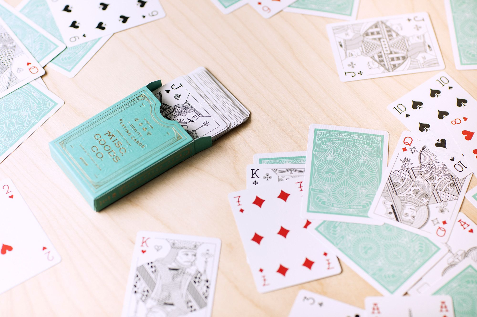 Game Night The Most Beautiful Playing Cards Cool Playing Cards