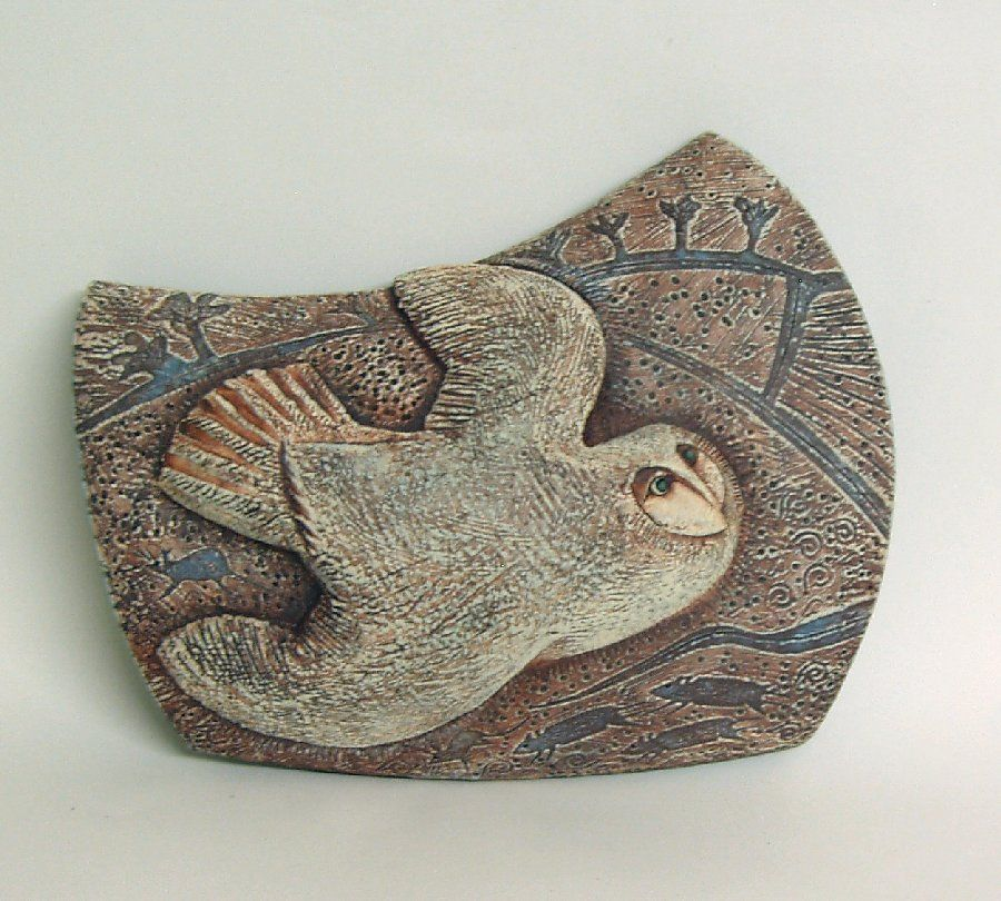 Dawn Owl By Blandine Anderson Pottery Sculpture Animal Sculptures Ceramic Animals