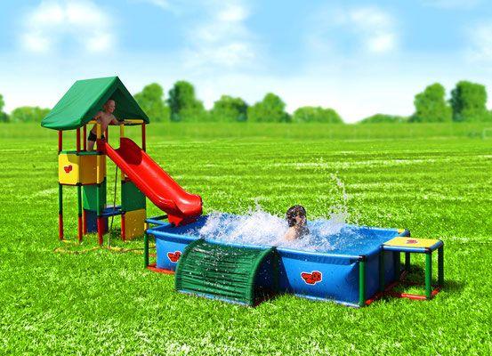 Quadro Klettergerüst Universal : Quadro universal junglegym playtower pool xxl action