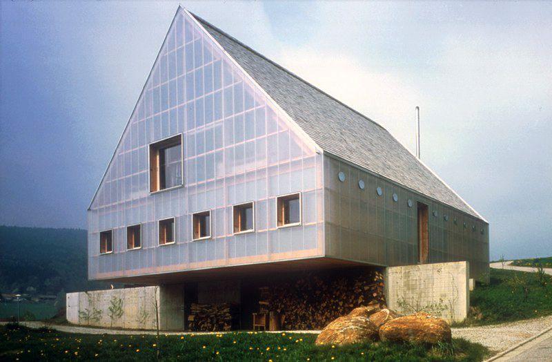 Florian Nagler Architekten- Lang-Kröll house and studio, Gleissenberg 2002