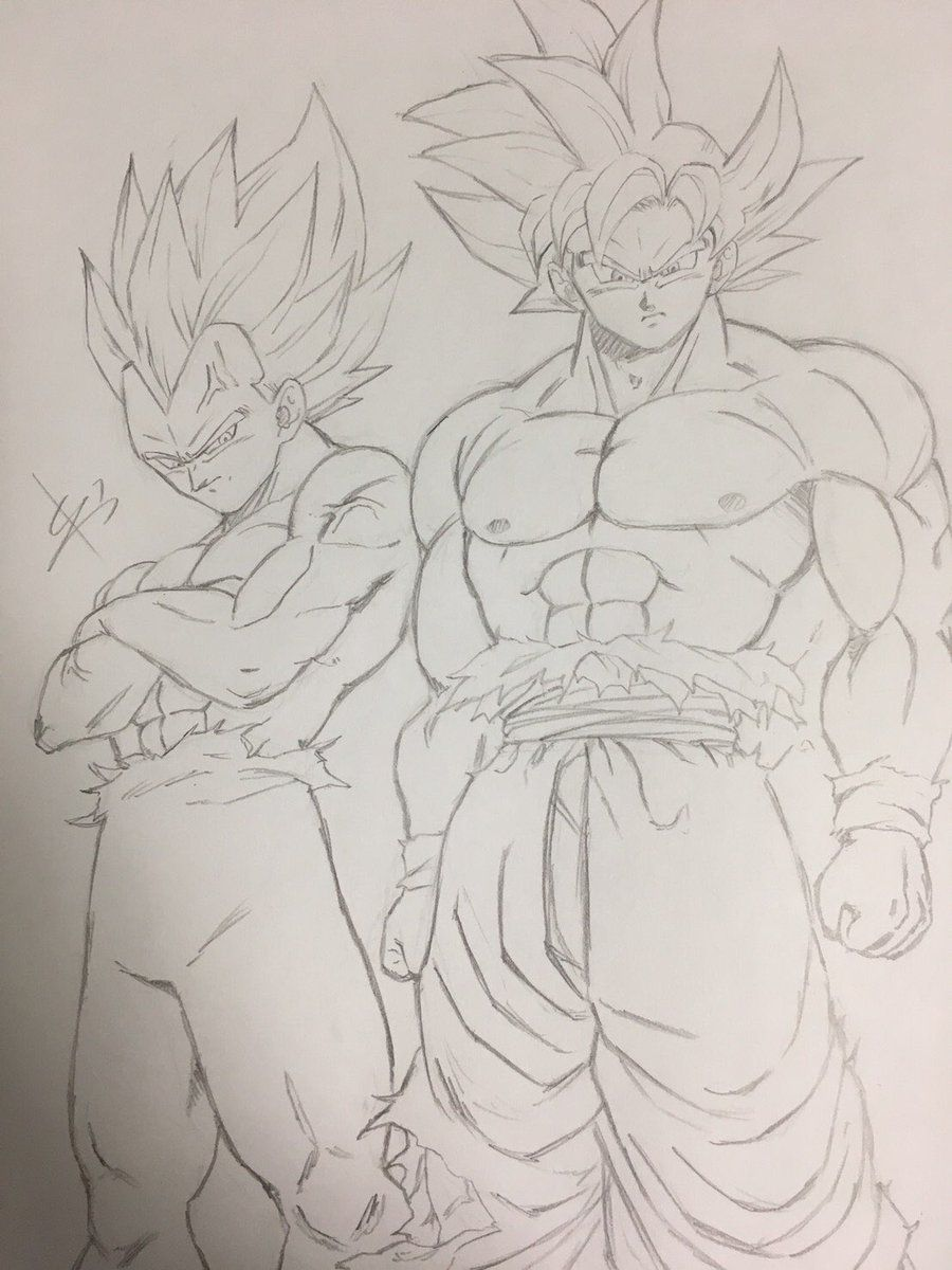 Goku Mastered Ultra Instinct Ultra Blue Vegeta Tattoo Desenhos Animados Desenhos Dragonball Desenho