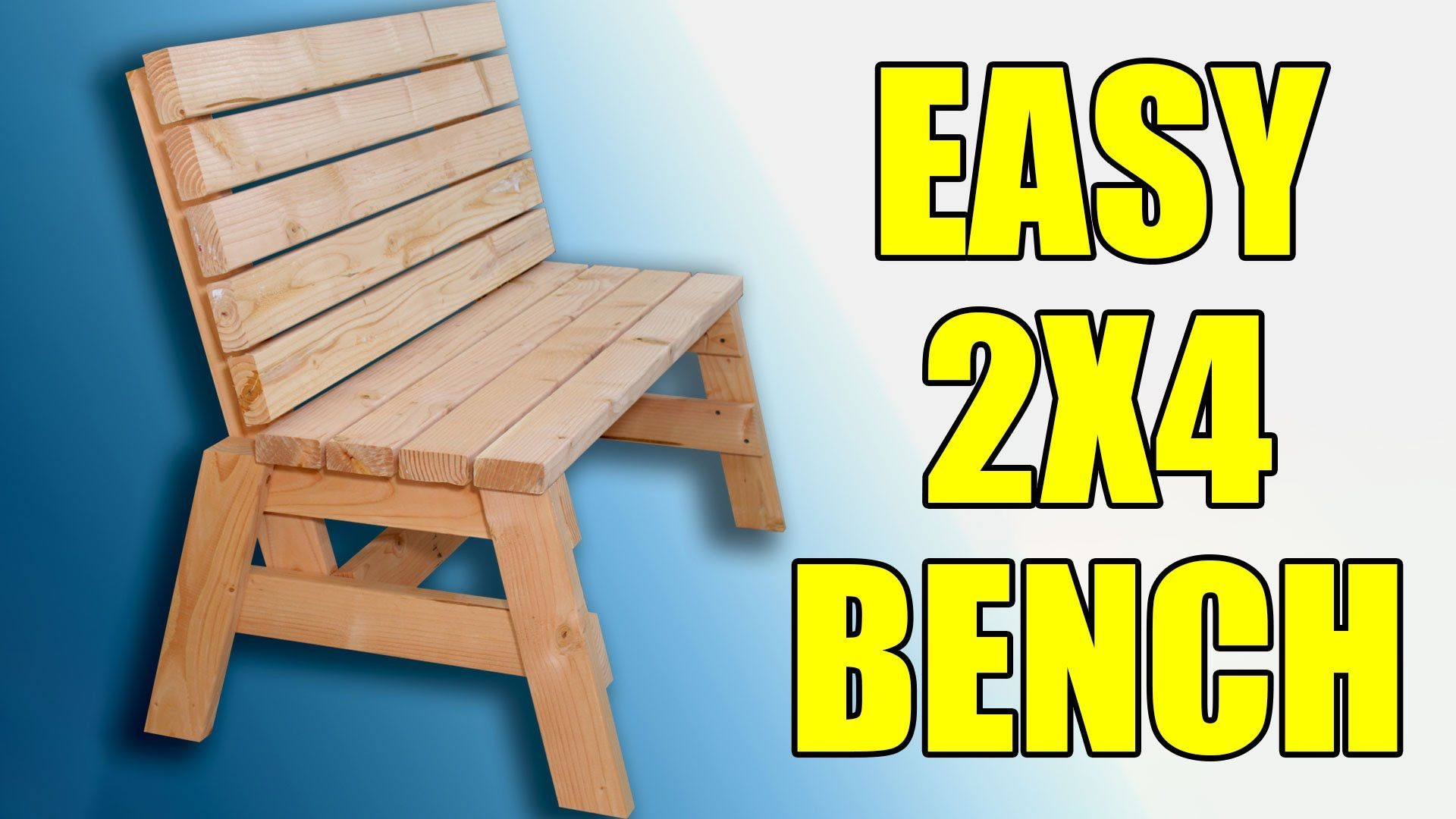 Plans Here Http Jayscustomcreations Com 2013 06 29 Free Plans 2x4 Outdoor Bench You Can Build This Supe Woodworking Bench Diy Bench Woodworking Bench Plans
