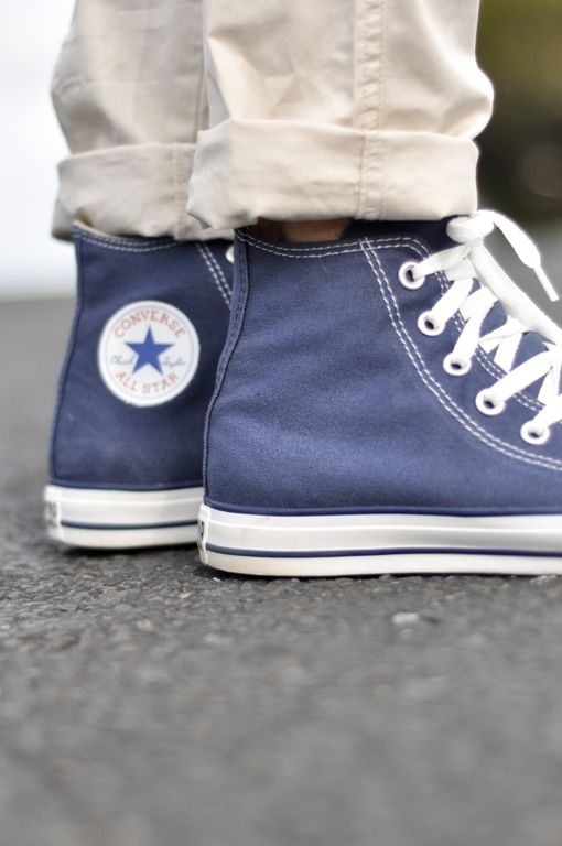 4a510f190d28 chucks and rolled up khakis. chucks and rolled up khakis Converse All Star