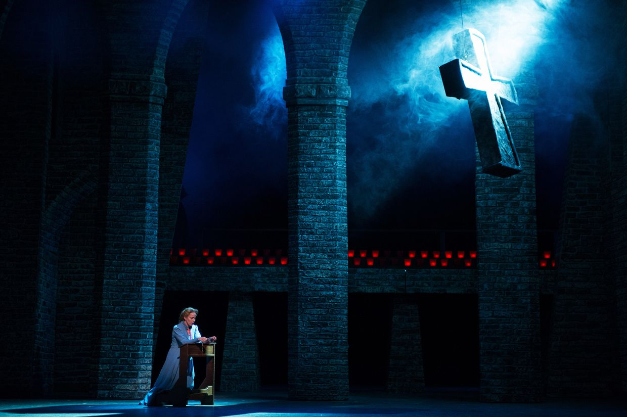 Faust utah festival opera company set and lighting design by