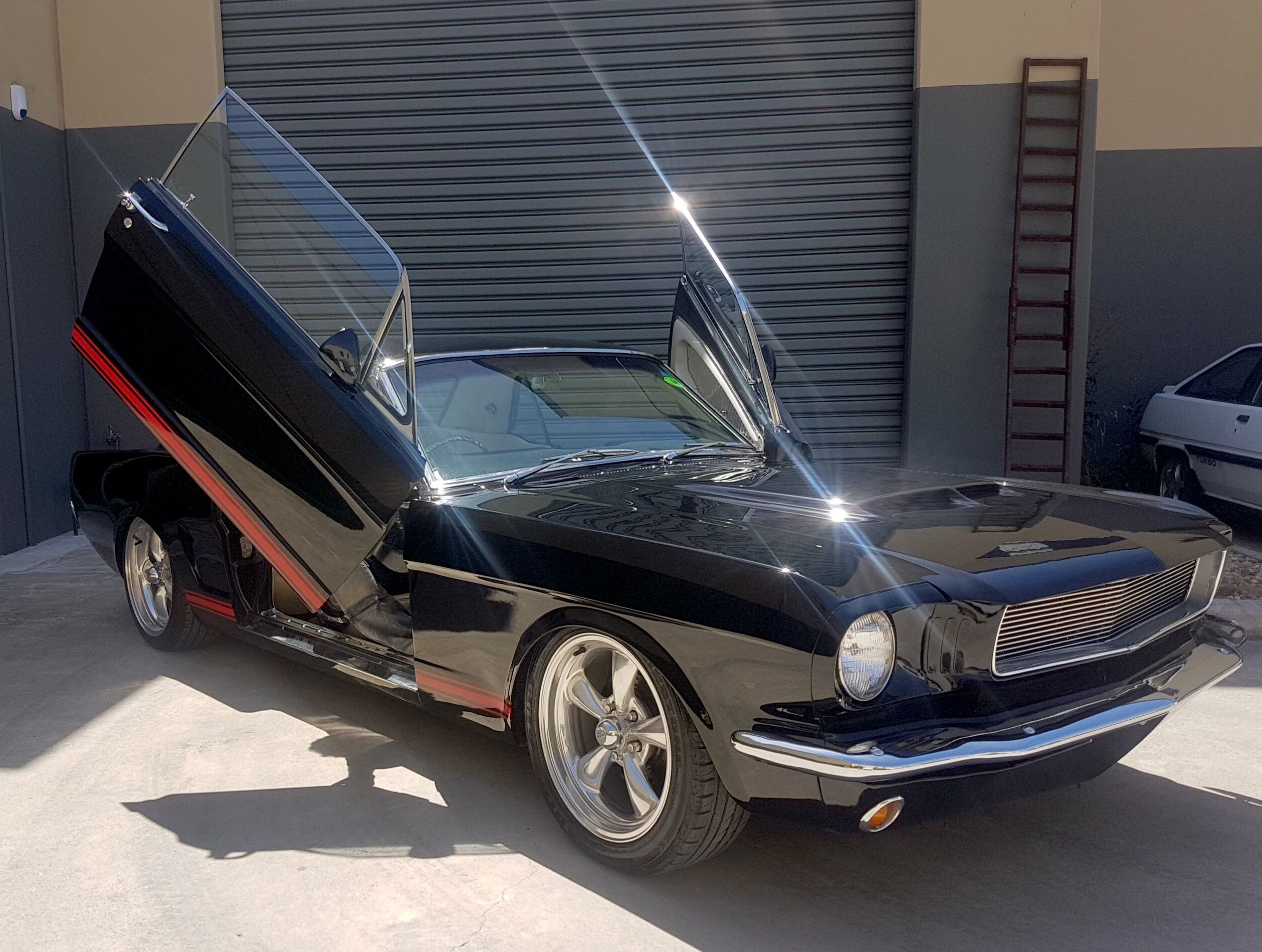 Mustangs In Black 1966 Ford Mustang Hardtop Coupe 1966 Ford Mustang Ford Mustang 1966 Mustang Coupe