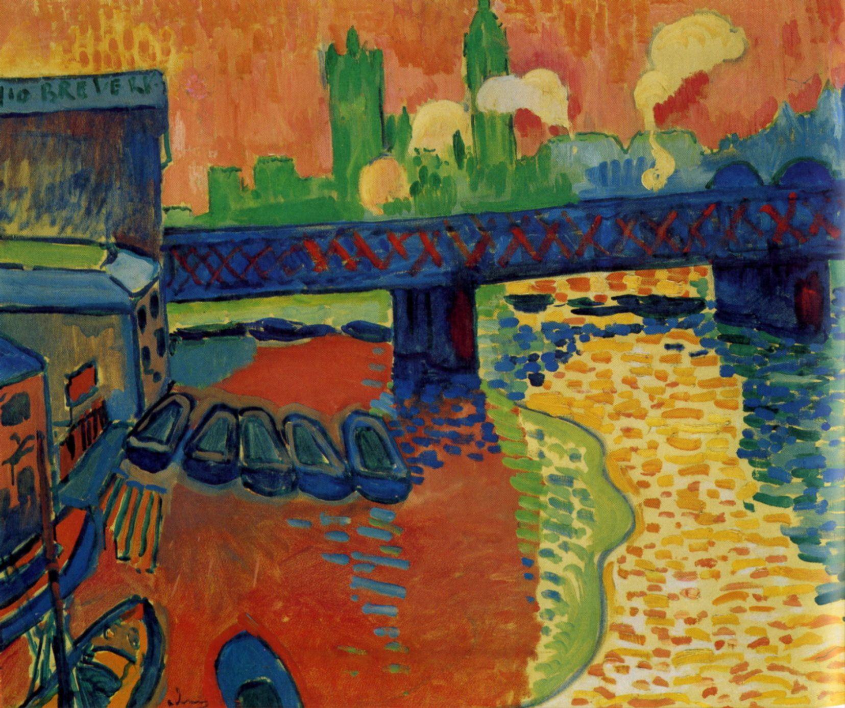0cc4706c657 Le pont de Charing Cross à Londres