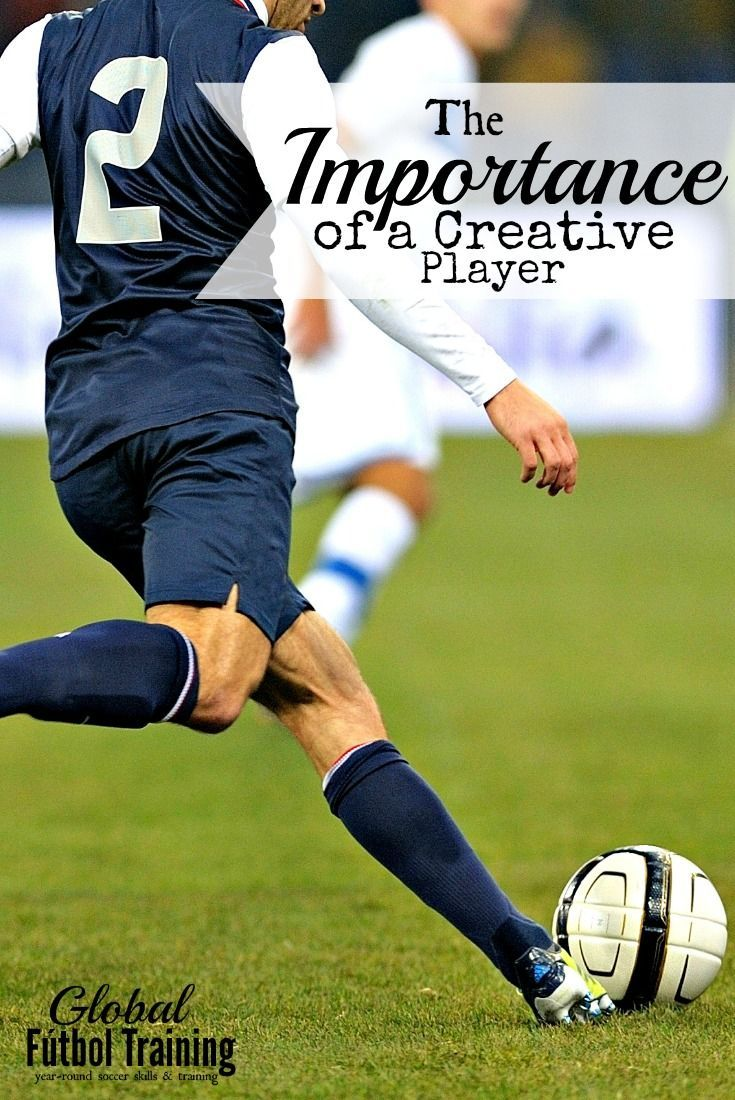 The importance of a creative player Soccer quotes