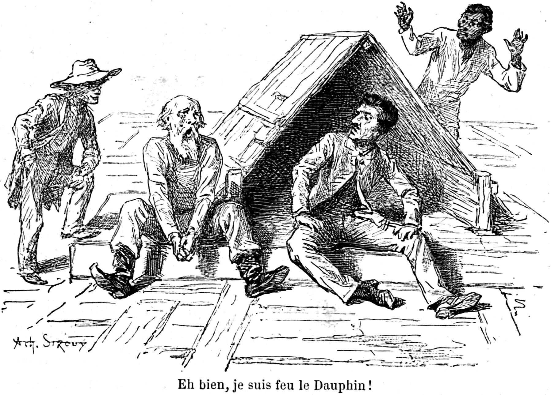 huckleberry finn original illustrations gutenberg google search hf huck dauphin duke jim