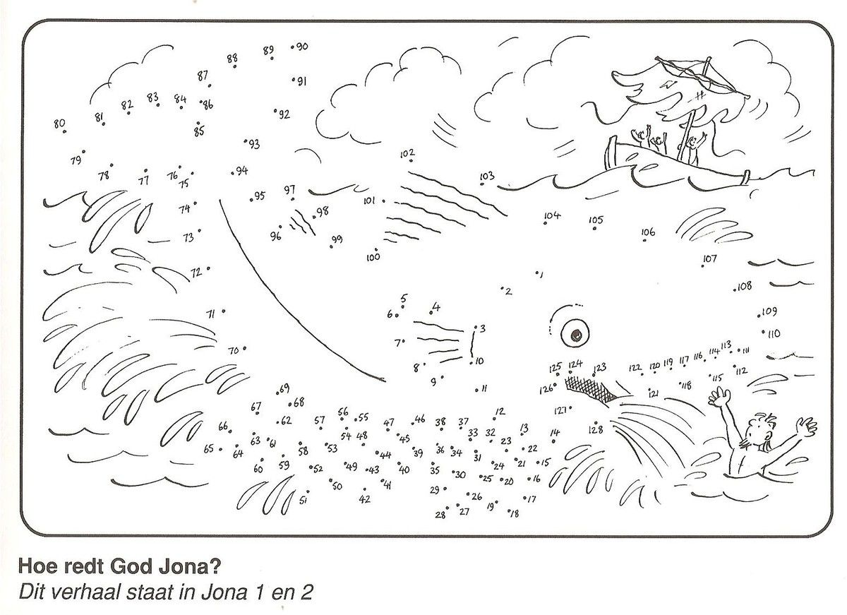 Jonah And The Whale Fun Worksheet