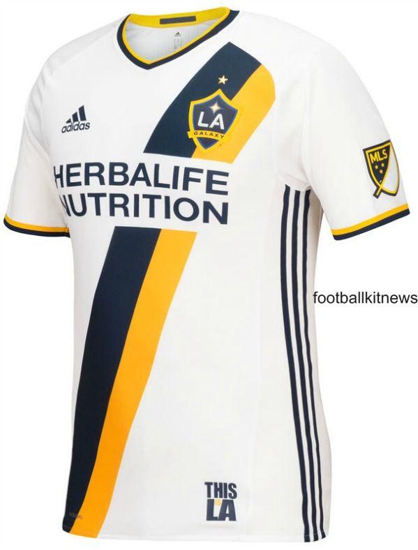 New La Galaxy Jersey 2016 Adidas Los Angeles Galaxy Mls Home Kit 2016 Camisas De Futebol Camisa De Futebol La Galaxy