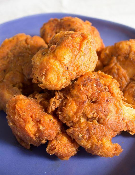 Spicy Fried Cauliflower Chicken