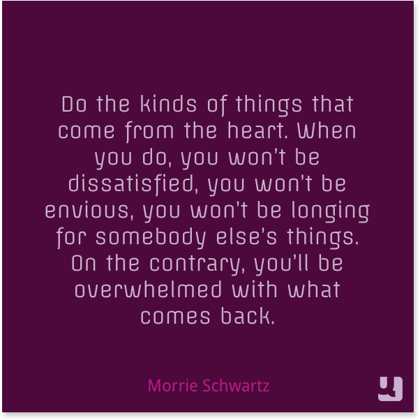 morrie schwartz essay Essay, case study, textbook solution  he tells about his visits morrie schwartz during his last fourteen tuesdays of life where he learns the great lessons of .