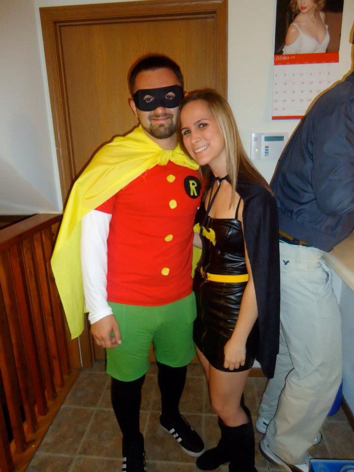 Batman And Robin Halloween Costumes As regards Couples