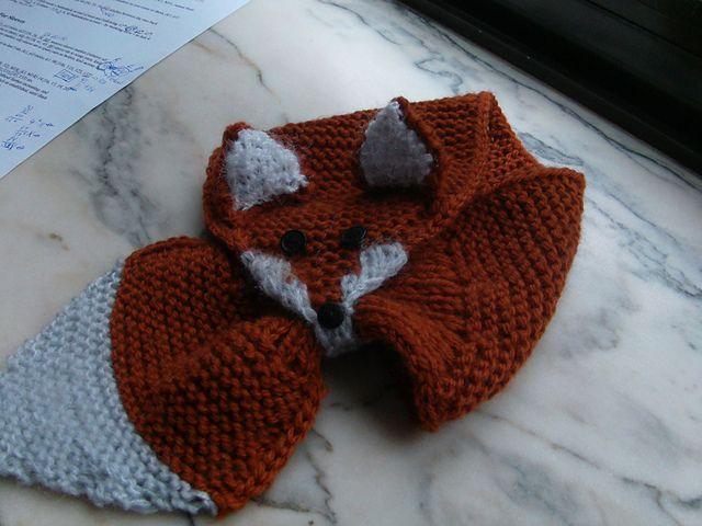 Ravelry Fox Scarf Pattern By Satu Dolk And Ossi Laine I Should