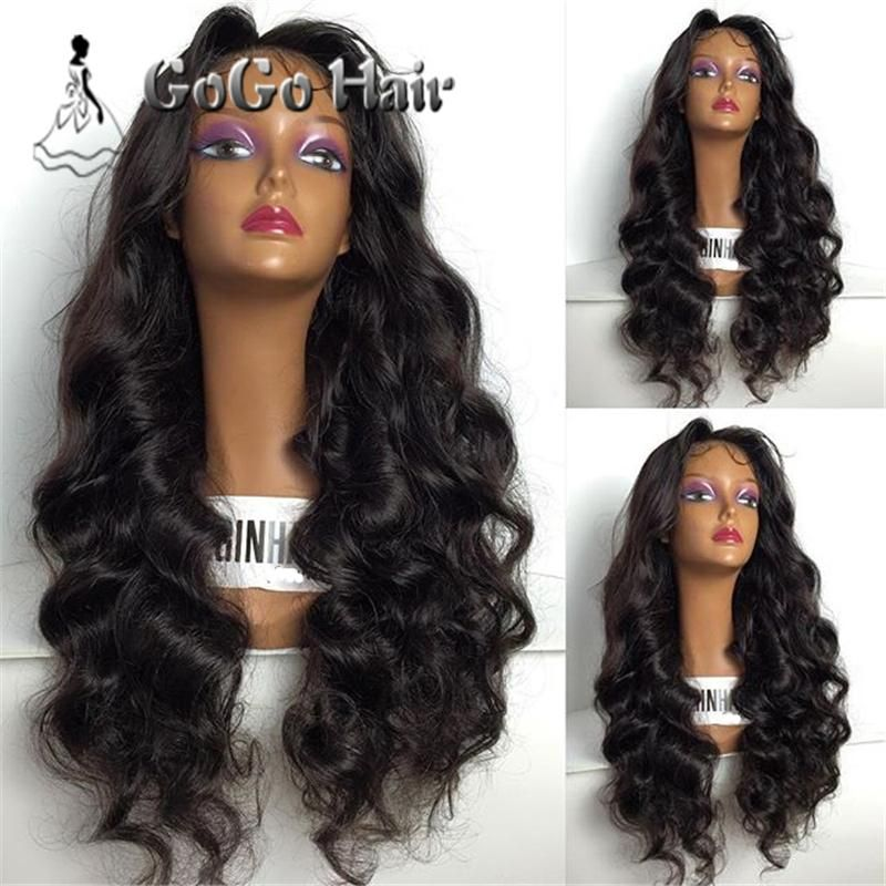 7A Loose Wave Glueless Full Lace Human Hair