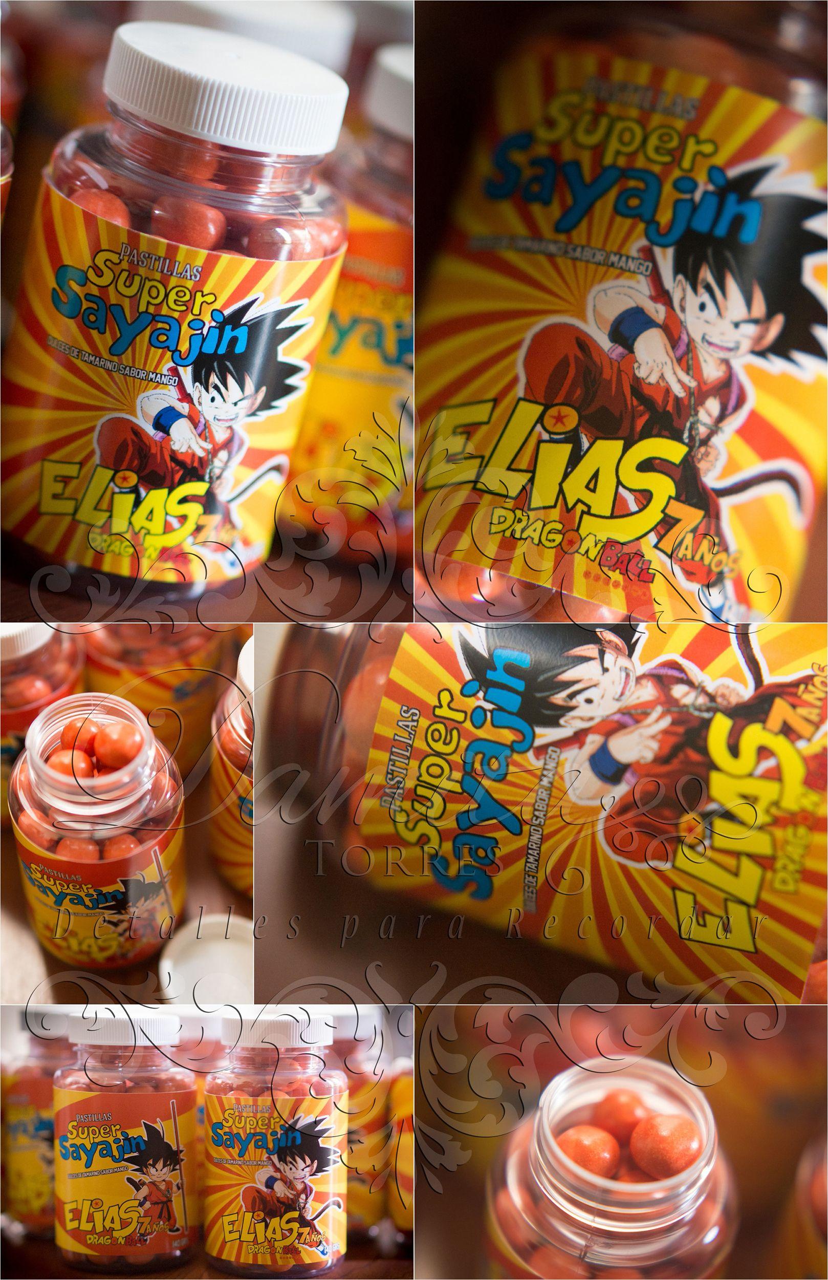 Dragon Ball Z Birthday Party Ideas