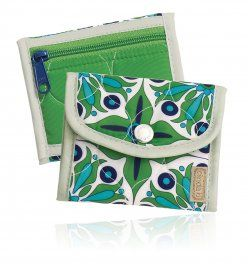 Pocket Wallet in Verde Bonita