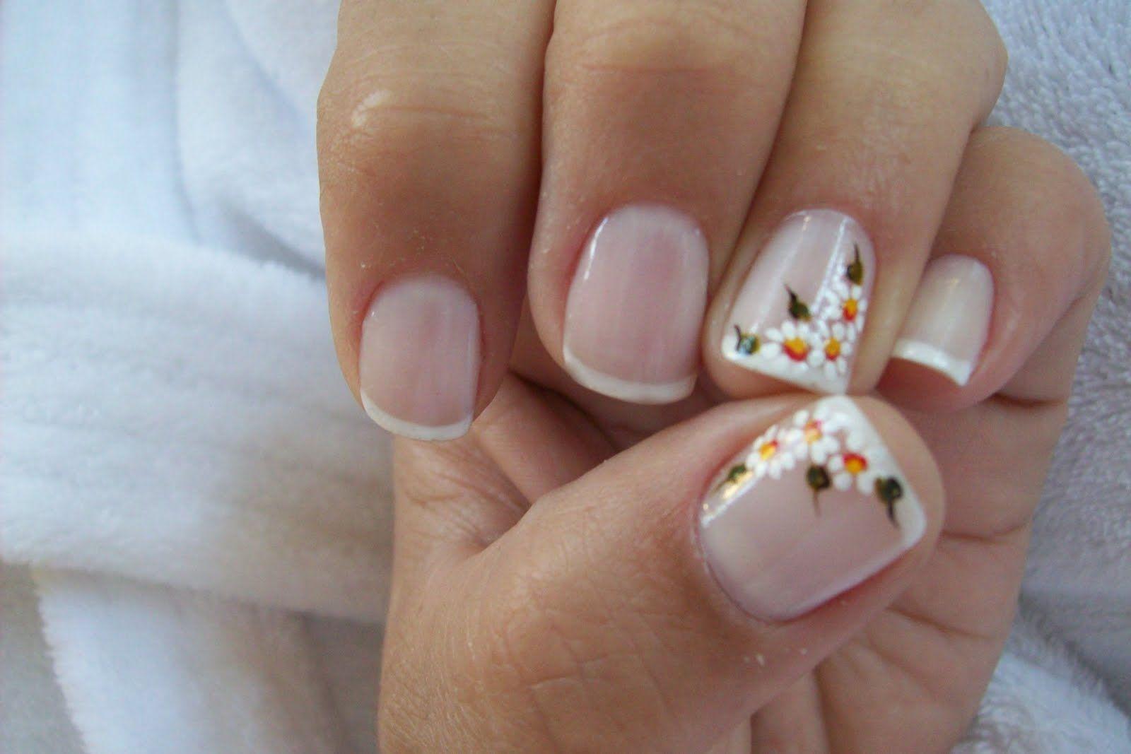 Decoracion De Unas Cortas Buscar Con Google Nails Nail Designs