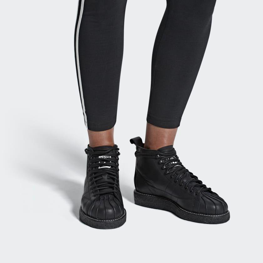 Superstar Luxe Boots Black AQ1250