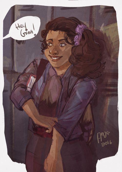 哈哈哈哈哈哈哈, ayy thank you ive been wanting to draw gina