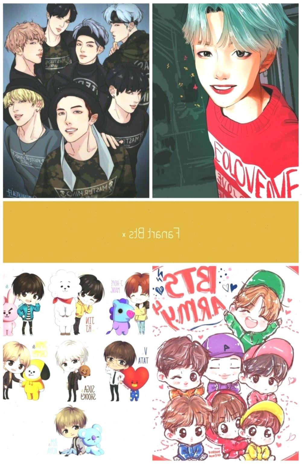 BTS Anime Wallpaper Fanart for Android APK Download bts