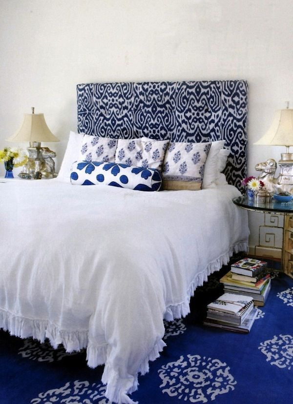 Update Your Bedroom With A Patterned Headboard AphroChic Modern Amazing Patterned Headboards