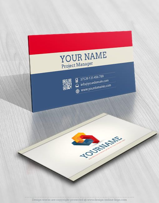 Exclusive Design Buy D Abstract Online Logo Logos Pinterest - Free business card templates online