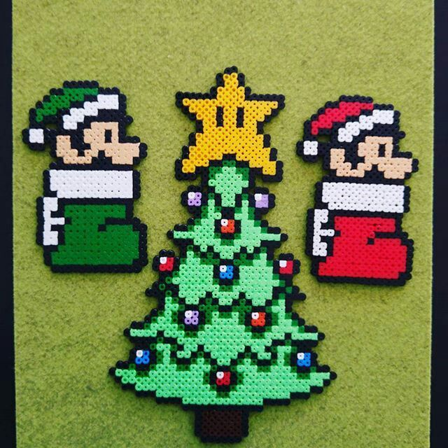 Pin By Gisselle On Offical Big Tree Mario Christmas Theme