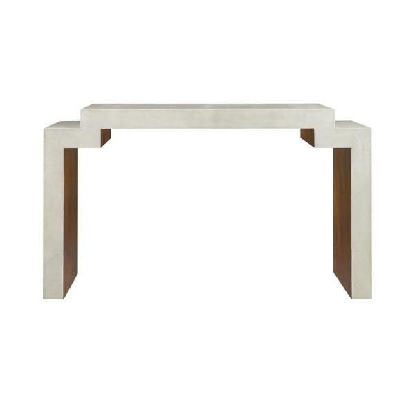 Delicieux Worlds Away Westcott Large Console Table
