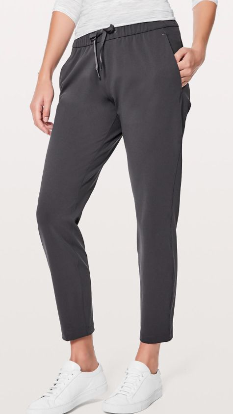 cd21ab6e12639 Lululemon On the Fly Pant in dark shadow color | Desire in 2019 ...