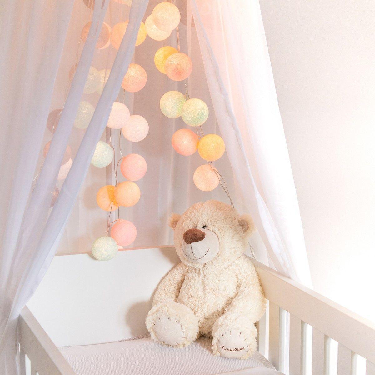 Guirlande Lumineuse Cotton Ball Lights Pastel Pour Illuminer Votre Chambre De La Plus Belle Des Facons Gui Disenador De Interiores Disenos De Unas Guirnaldas