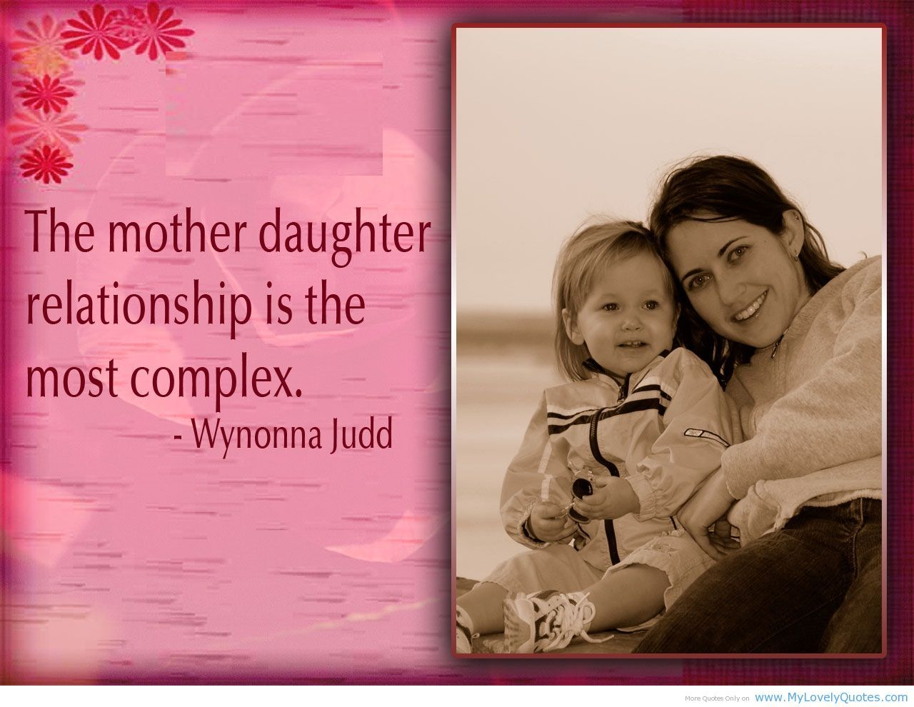 Mothers And Daughters Quotes Httpmylovelyquoteswpcontentuploads201304Mother