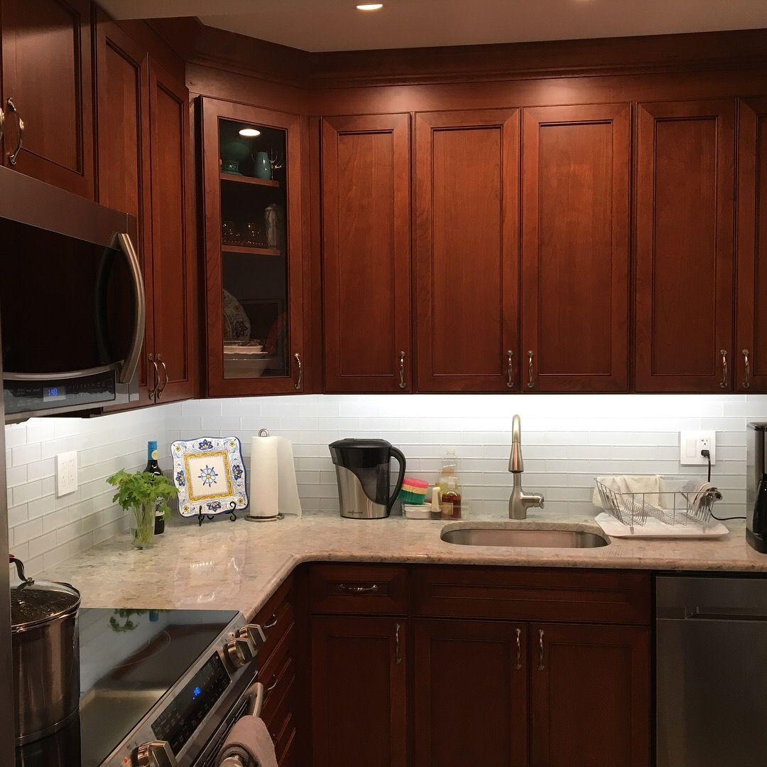 Kitchen renovation featuring Hanssem cabinetry and ...