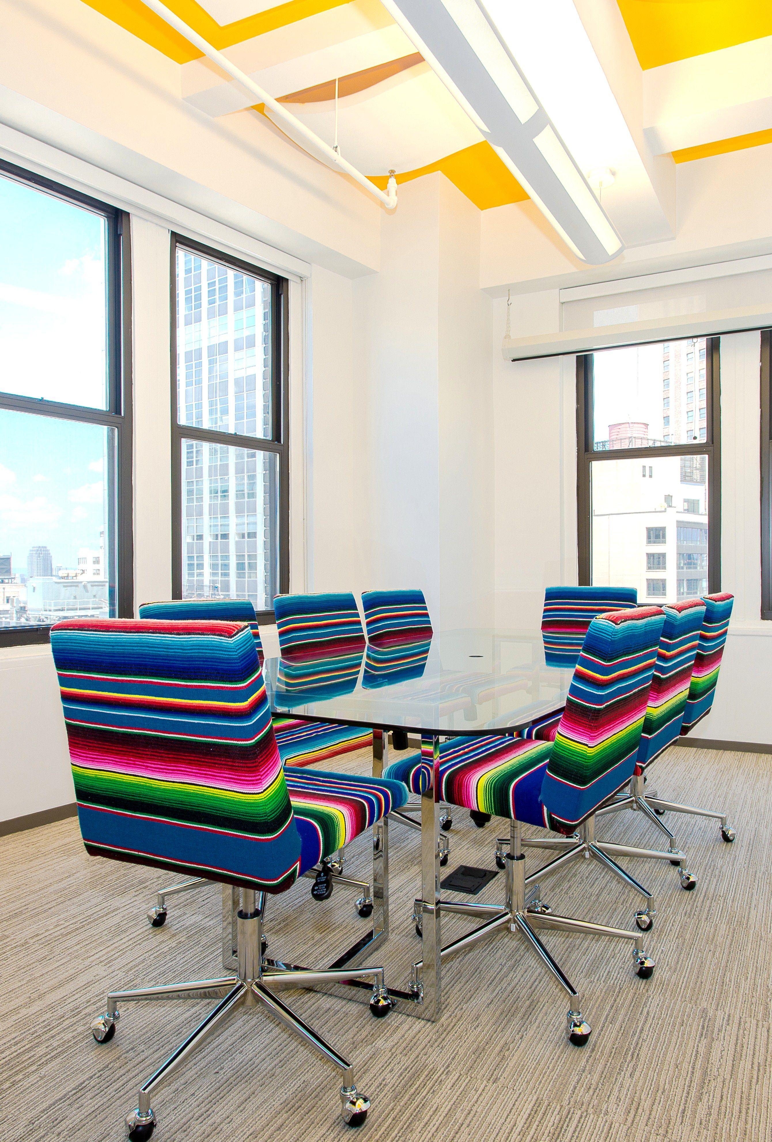 Serape conference room start up office interior design casey debois