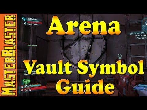 Borderlands 2 Washburne Refinery Vault Symbol Guide Borderlands 2