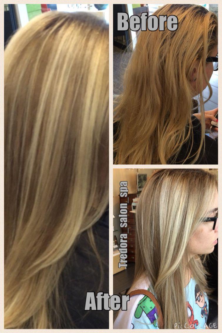 Balayage Highlights Over Medium Ash Blonde Base Balayage