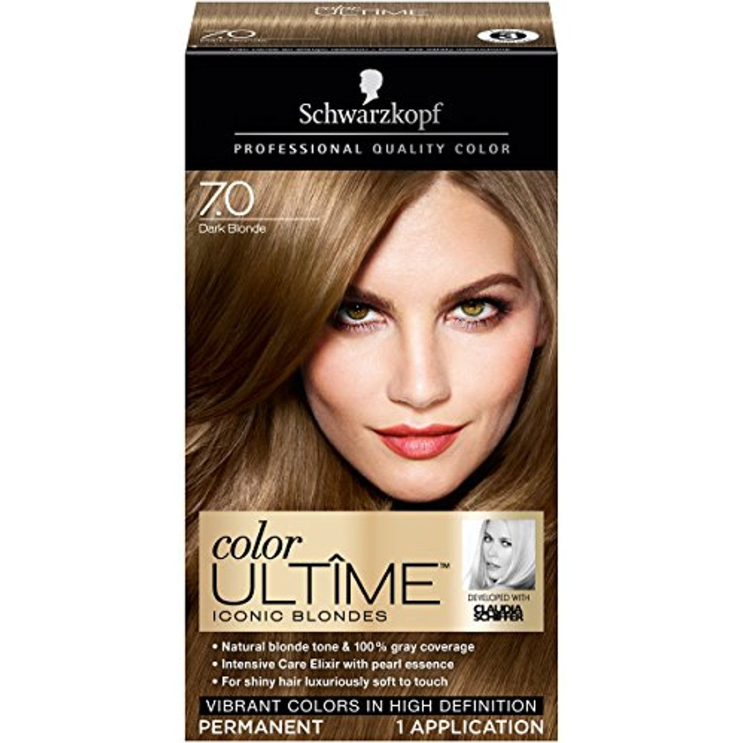 Schwarzkopf Color Ultime Iconic Blondes Hair Coloring Kit 7 0