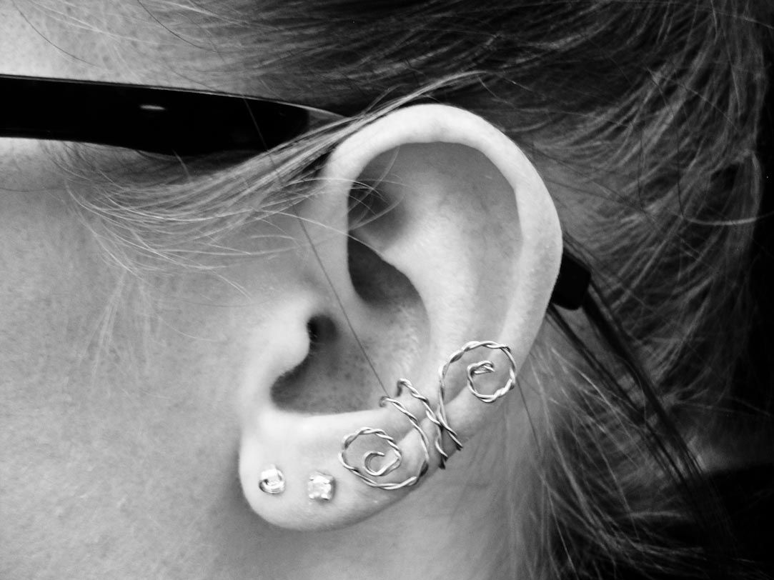 how to make homemade ear cuffs