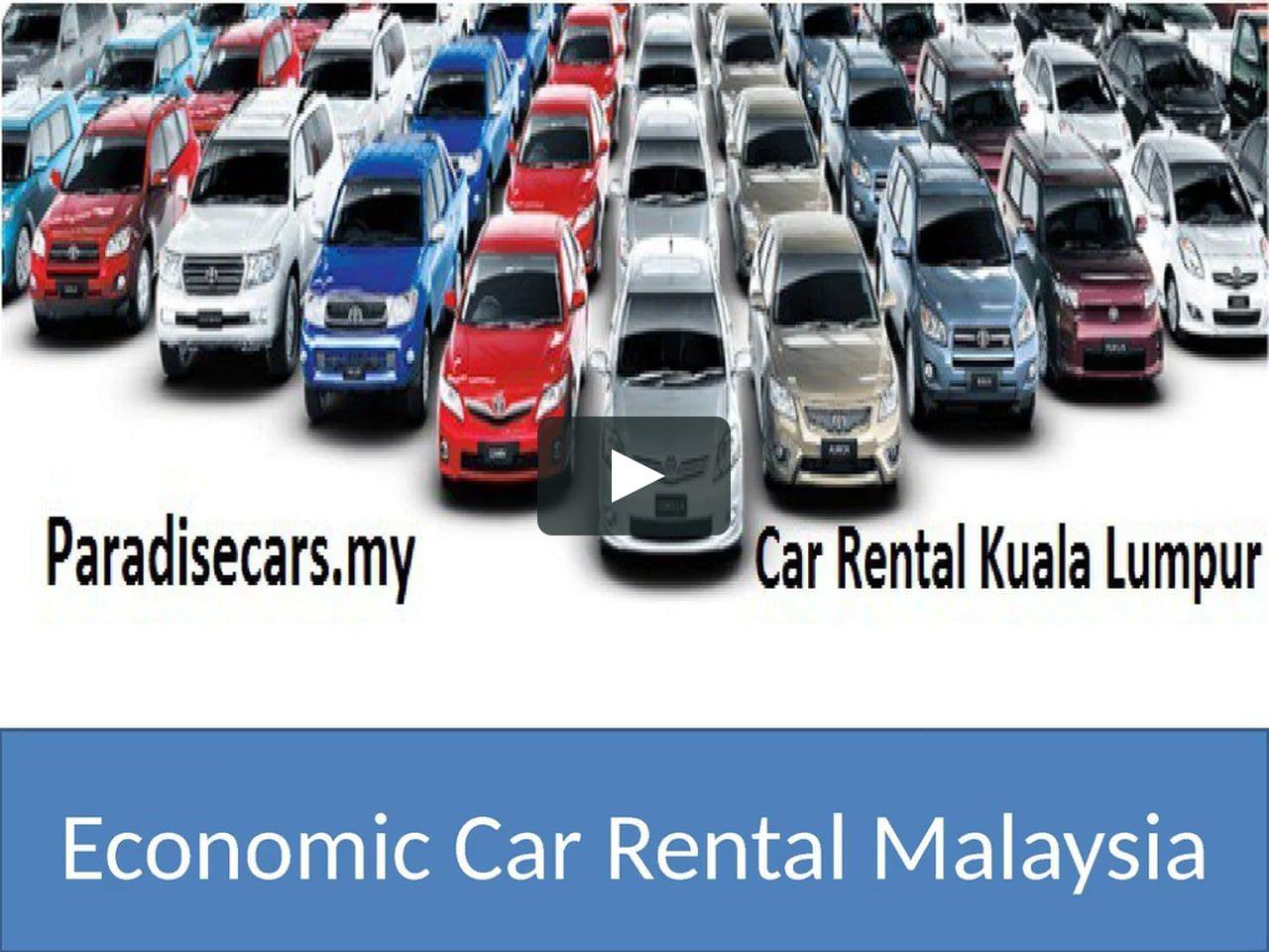 Economy Car Rental Kuala Lumpur Electric Car Rental Malaysia