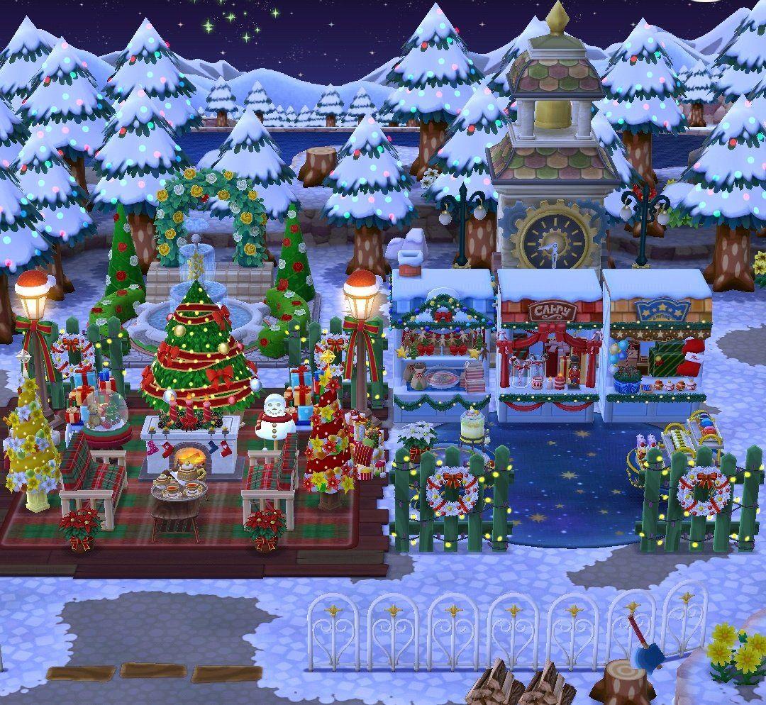 My Cozy Christmas Camp 🎄 ACPocketCamp Animal crossing