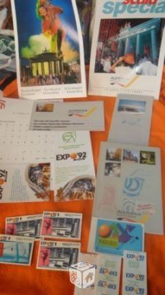 coleccion entradas libros y otras cosas de la Expo 92