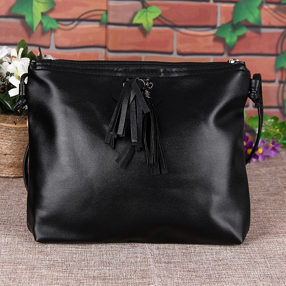 2d2bb2f1ac0 Fashion Shoulder Crossbody Bag Small PU Tassel Women Bag Women Messenger  Bags Women Leather Handbag Mini