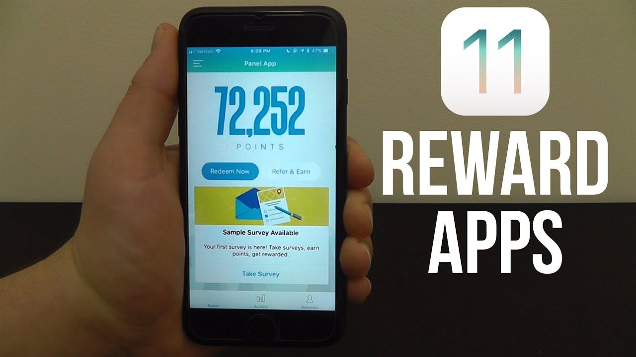 Best reward apps for ios 11 earn gift cards cash