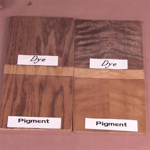 Learn The Difference Between Dye And Pigment Stain Before You Use Either One On Your Next Woodworking Project Rockler Skill Builders