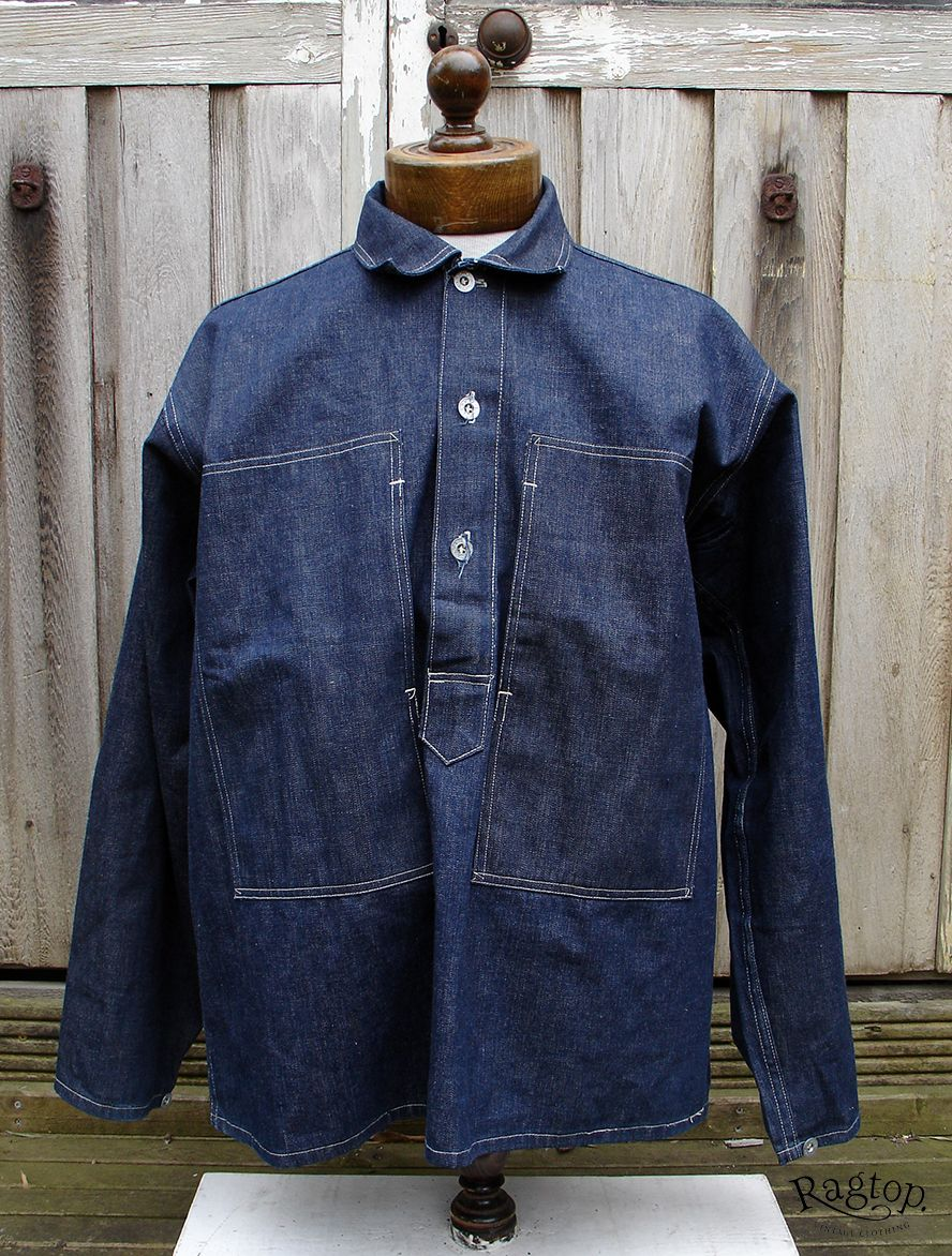 6be74378f2a U.S Army Denim pullover shirts- deadstock and worn