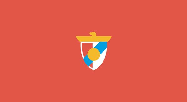 Minimal Football On Behance Football Logo Soccer Logo Pub Logo