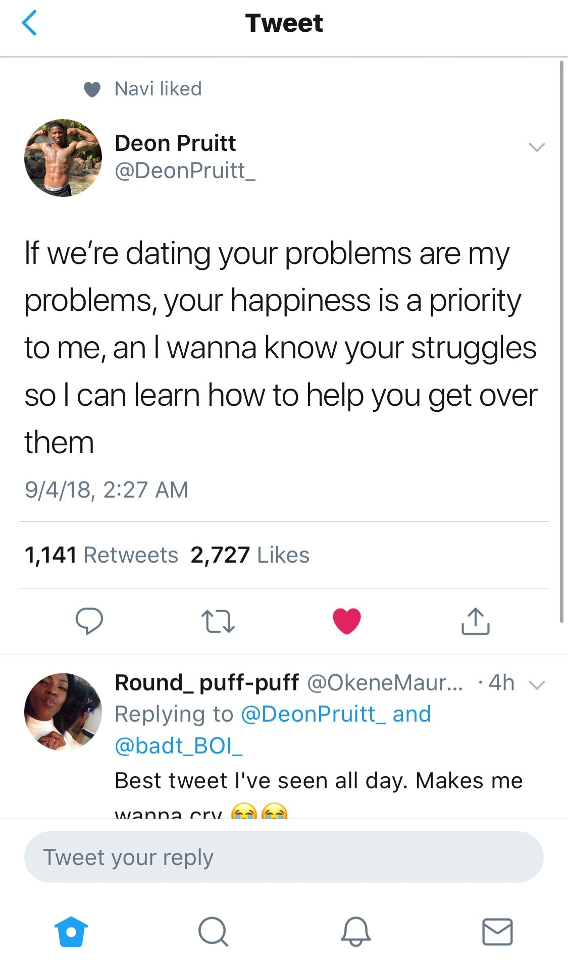 If We Re Dating Your Problems Are My Problems Your Happiness Is